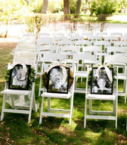 chairs for deceased relatives